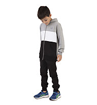 Get Fit Suit Woody Full Zip CB - Traininsanzug - Jungen, Grey/Black/White