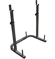 Get Fit Hantelstangenhalterung - Zubehör Trainingsbänke, Grey/Black