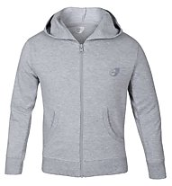 Get Fit Trainingsjacke Hoodie Kinder, Grey