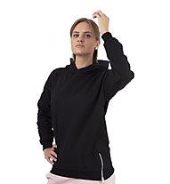 Get Fit Sweater 2-Zip Hoody Nena - felpa con cappuccio - donna, Black
