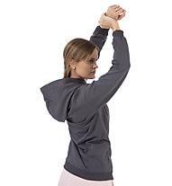 Get Fit Sweater 2-Zip Hoody Nena - felpa con cappuccio - donna, Grey