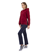Get Fit Sweater 2-Zip Hoody Nena - felpa con cappuccio - donna, Red