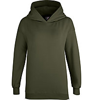Get Fit Sweater 2-Zip Hoody Nena - felpa con cappuccio - donna, Green