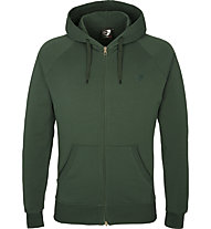 Get Fit Sweater Full Zip Hoodie - giacca sportiva con cappuccio - uomo, Green