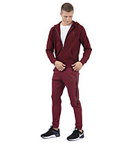 Get Fit Sweater Full Zip Hoodie - giacca sportiva con cappuccio - uomo, Red