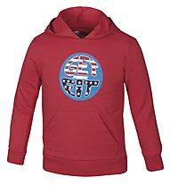 Get Fit Kapuzen-Sweatshirt Kinder, Red
