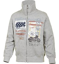 Get Fit Felpa Boy, Grey/Usa