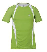 Get Fit Crew-Neck Runningshirt M, Green/White