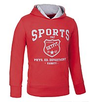 Get Fit Fitness Hoodie Boy, Red