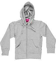 Get Fit Fitness Hoodie Girl - Giacca Della Tuta, Light Grey