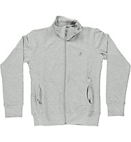 Get Fit Fitness Jacke Pemora Damen, Light Grey