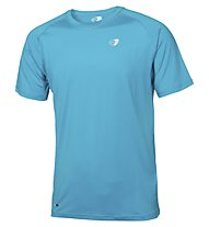Get Fit T-Shirt Running Männer, Light Blue