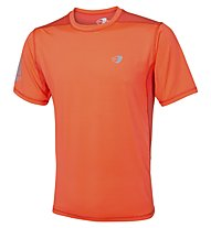Get Fit T-Shirt Running Laufshirt Männer, Orange Fluo