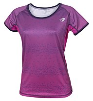 Get Fit T-shirt Running donna, Rose Violet