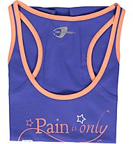 Get Fit T Shirt without sleeve maglietta, Amaro