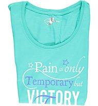 Get Fit T-Shirt S/S Damen, Pool