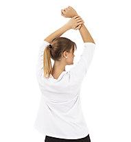 Get Fit Tarta - 3/4 Langarmshirt - Damen, White
