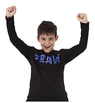 Get Fit Tartan - Langarmshirt - Jungen, Black