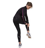 Get Fit Top - maglia a maniche lunghe running - donna, Black/Pink