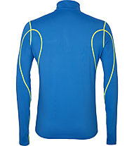 Get Fit Top - maglia a maniche lunghe running - uomo, Blue/Yellow