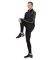 Get Fit Top - maglia a maniche lunghe running - uomo, Black