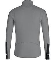 Get Fit Top Full Zip - Lauflangarmshirt - Herren, Grey
