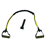 Get Fit TPR Pull Exerciser - attrezzi fitness piccoli, Black/Yellow