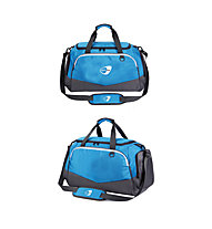 Get Fit Travel Bag Small 28 x 45 x 25 - Borsa fitness piccola, Blue/Grey