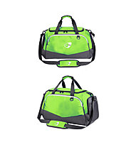 Get Fit Travel Bag Small 28 x 45 x 25 - Borsa fitness piccola, Green/Grey