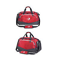 Get Fit Travel Bag Small 28 x 45 x 25 - Borsa fitness piccola, Red/Grey