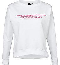 Get Fit Violet - Sweatshirt - Damen, White