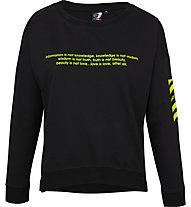 Get Fit Violet - Sweatshirt - Damen, Black