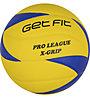 Get Fit Volley X-Grip - pallone da pallavolo, Violet/Yellow
