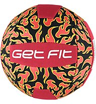 Get Fit Palla Volley Mini Neoprene, Red/Black