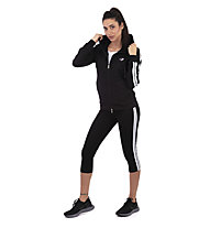 Get Fit W Sweater Full Zip Hoody - Trainingsjacke - Damen, Black
