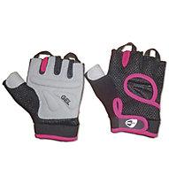 Get Fit Fitness - guanti - donna, Black/Pink
