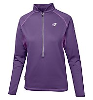 Get Fit Woman Polar Fleece Runningshirt Langarm Damen, Grape