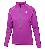 Get Fit Woman Polar Fleece Runningshirt Langarm Damen, Rose Violet