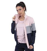 Get Fit Woman Suit Color Block - tuta sportiva - donna, Grey/Rose/Blue