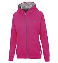 Get Fit Woman Sweater Full Zip Hoody - giacca con cappuccio donna, Fuchsia