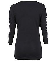 Get Fit Wild - Trainingsshirt 3/4 - Damen, Black