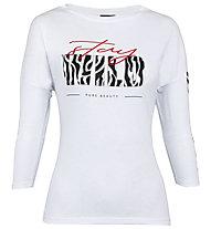 Get Fit Wild - Trainingsshirt 3/4 - Damen, White