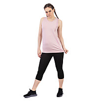 Get Fit Woman Tank Over - Top Fitness - Damen, Rose