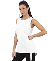 Get Fit Woman Tank Over - Top Fitness - Damen, White