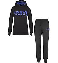 Get Fit Woody Tartan - Trainingsanzug - Jungen, Black/Blue