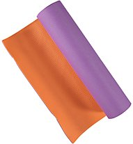 Get Fit Tappetino fitness Yoga Mat, Violet/Orange