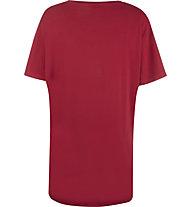 Get Fit Plus Short Sleeve Plus - Fitnessshirt - Damen, Red