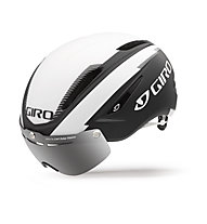 Giro Casco bici da corsa Air Attack Shield, matte black/white