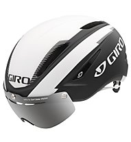 Giro Air Attack Shield Rennradhelm, matte black/white