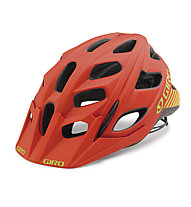 Giro Hex - Casco bici, Matte Glowing Red/Highlight Yellow